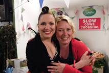 Imelda May meets Jenny Young